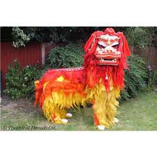 new year lion costume hire costume northern lion for new year or