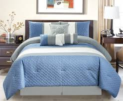 grey and blue comforter sets ideas