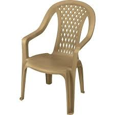 Plastic High Back Patio Chairs Us Leisure Montego High Back Chair Dune Walmart Plastic Patio