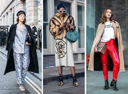 style trends 2017 london fashion week fall 2017 street style trends best fashion