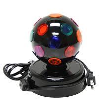 mini disco ball light amazon com 4 inch rotating disco ball light home improvement