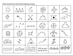 indian symbols for indian vest headband projects projects