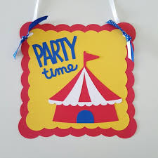 carnival decorations circus door sign carnival door sign circus birthday carnival b