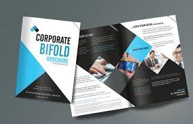 free professional brochure templates free brochure template word