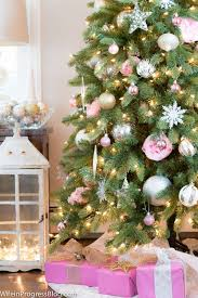 pink christmas tree pink christmas tree decor is the new this season with regard to