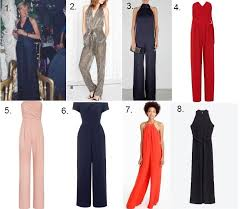 evening jumpsuits the best of this season s jumpsuits l m personal style