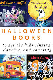 halloween books that will get the kids singing chanting and dancing