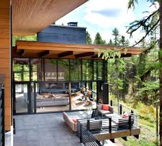 sacramento rolled steel exterior contemporary with wood column
