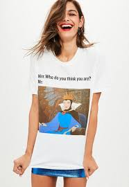 Meme Queen Shirt - white snow white queen meme t shirt missguided
