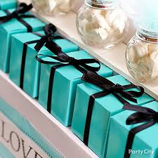 robin egg blue gift boxes robin s egg blue favor boxes idea robins egg blue candy buffet