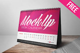 Small Desk Tent Calendar Free Desk Calendar Mock Up In Psd Free Psd Templates