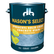 mason u0027s 1 gallon base 4 select solid color concrete stain
