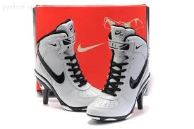 buy boots nike buy cheap nike air 1 heels ankle boots white black on sale