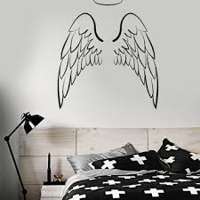 2 Wing Bedroom Best Metal Angel Wings Decor Products On Wanelo