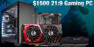 best gtx 1080 pc deals black friday 1500 ultrawide 21 9 gaming pc build black friday 2016