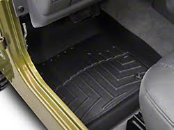 weathertech jeep wrangler weathertech wrangler all weather front rubber mat w224 97 06