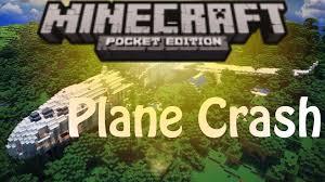 Adventure Map Plane Crash Adventure Map Minecraft Pocket Edition Youtube