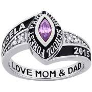 high school class ring companies personalized jewelry walmart