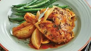 cuisiner poulet entier poulet entier au beurre de sauge et aux oignons à la mijoteuse