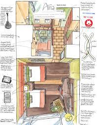 Sheffield Arena Floor Plan 100th Hotel Room Drawing In Las Vegas Urban Sketchers