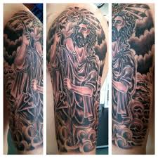 the favorites religious sleeve tattoos religious half sleeve