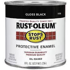 rust oleum stops rust 1 2 pint walmart com