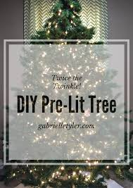 restring christmas tree lights diy pre lit christmas tree tutorial gabrielle tyler