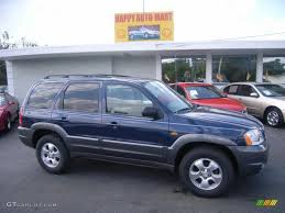 mazda tribute 2004 calypso blue metallic mazda tribute lx v6 4015410 gtcarlot