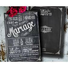faire part mariage vintage faire part mariage vintage ardoise pizarra