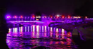 niagara falls light show a waterfall light show is coming to ottawa and it s absolutely