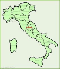 map of perugia perugia location on the italy map