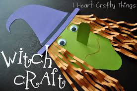 Crafts For Kids For Halloween by Witch Craft I Heart Crafty Things