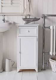 buy tongue and groove bathroom storage unit white at argos co uk