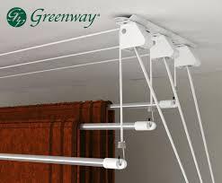 amazon com greenway 3 rod laundry lift home u0026 kitchen