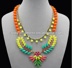 colored bead necklace images Colorful beads ethnic trend necklace buy latest design beads jpg