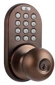 milocks dkk 02ob electronic touchpad entry keyless door lock oil