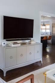 how to design around a television u2014 studio mcgee