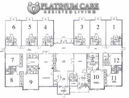 residential home floor plans gallery for assisted living facilities floor plans one thing i