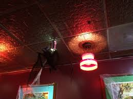 Faux Tin Ceiling Tiles Drop In by A Spooky Halloween Theme Complimented By A Beautiful Faux Tin
