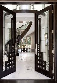 Metal Glass Door by 26 Modern Front Door Designs For A Stylish Entry Shelterness