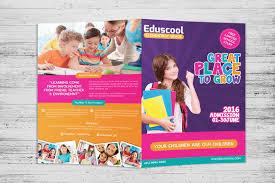 play school brochure templates 53 bi fold brochure templates free premium creative template