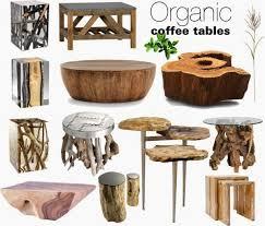 organic home decor organic wood coffee tables nature whisper