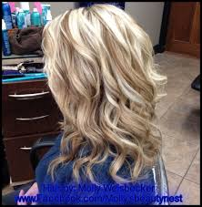 what do lowlights do for blonde hair platinum blonde hi lights with golden blonde lowlights curls