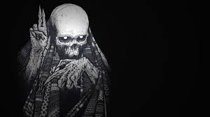 skeleton halloween background hd scary wallpapers group 64