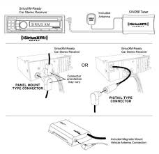 sirius radio wiring harness wiring diagram simonand