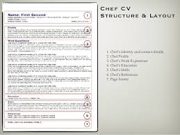 Chef Skills Resume How To Create A Chefs Cv Resume
