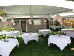 Ideas For Backyard Party by Backyard Wedding Ideas To Save The Budget