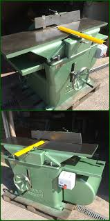 Woodworking Equipment Auction Uk by 16 X 9 Inch Planer Thicknesser Dominion With Brake Unit Ebay
