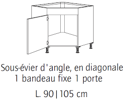 cuisine meuble d angle bas element cuisine angle bas simple meuble angle cuisine but buffet