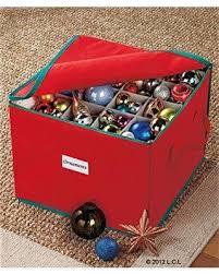 deal alert 75 ornament organizer storage box bin tree